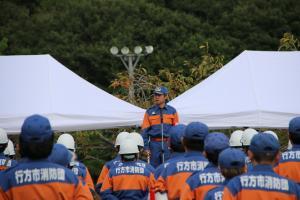 『20170930消防操法大会市長あいさつ』の画像