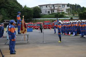 『20170930消防操法大会選手宣誓』の画像