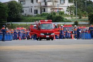 『20170930消防操法大会自動車競技01』の画像