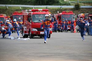 『20170930消防操法大会自動車競技02』の画像