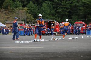 『20170930消防操法大会小型競技02』の画像