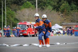 『20170930消防操法大会小型競技03』の画像