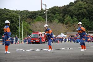 『20170930消防操法大会小型競技04』の画像