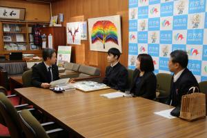 『201712222第12回若年者ものづくり競技大会金賞 橋本さん受賞報告』の画像
