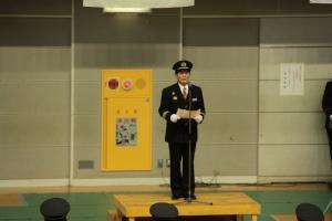 『20180106消防出初式 団長訓辞』の画像