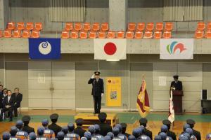 『20180106消防出初式市長あいさつ』の画像