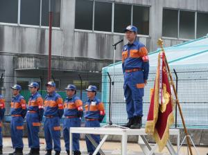 『消防団夏季訓練』の画像