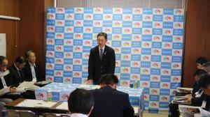 『市長定例記者会見』の画像