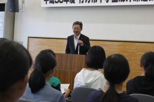 『2018出発式市長あいさつ』の画像