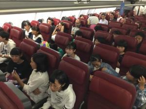 『2018海外派遣カンタス航空機内』の画像