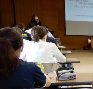 水内 幸惠先生の講話(1)