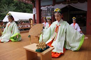 化蘇沼稲荷神社夏祭り1