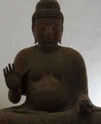 西蓮寺 木造薬師如来坐像