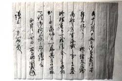 鳥名木家文書