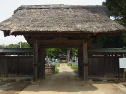 円勝寺 山門