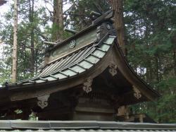 橘郷造神社本殿