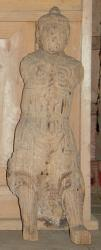 石神熊野神社 木造天部立像