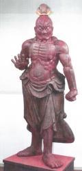 萬福寺 仁王像 吽形